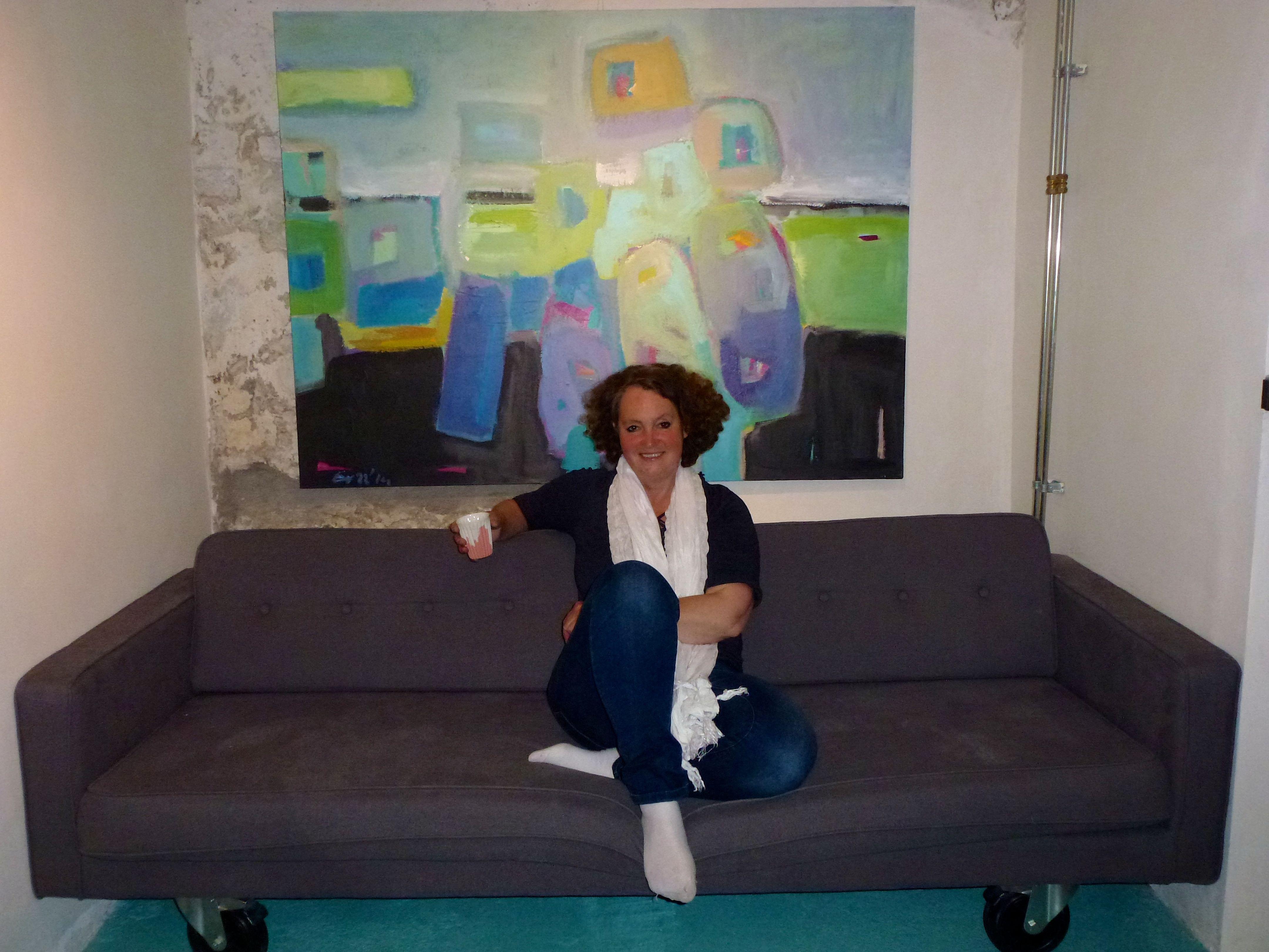 Ers bij expositie Happy By Art